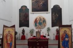 Aktuální výzdoba farního Chrámu sv. Vojtěcha 2020