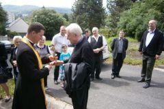 Otec biskup Ladislav v naší farnosti
