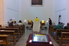 První sv. liturgie v Chrámě sv. Vojtěcha (24.9.2017)