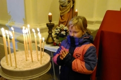 Sv. liturgie, adorace, panychida - 1.11.2019